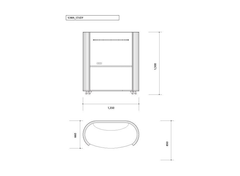 SOMA青い森 家具 木製家具 間仕切り機能 可動式家具 組み立て式 収納付き キャスター付き おしゃれ